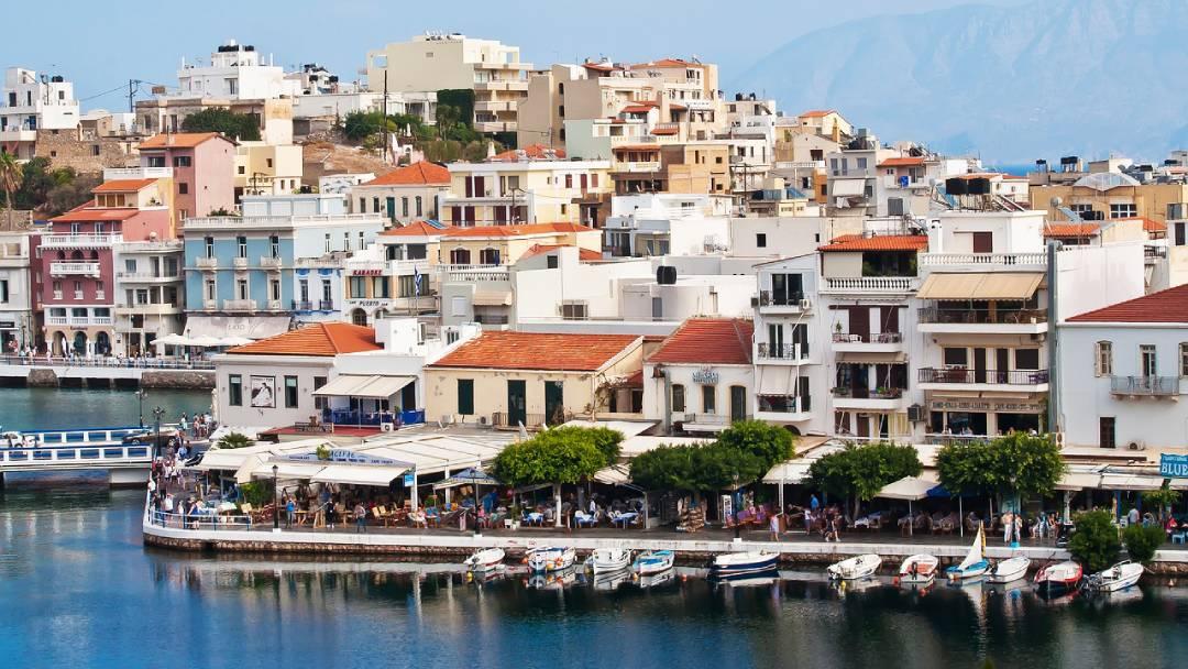 authentic buildings on Crete, Greece