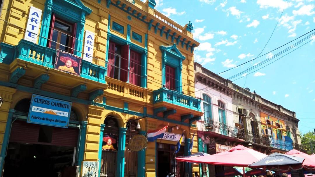 boca buildings Buenos Aires