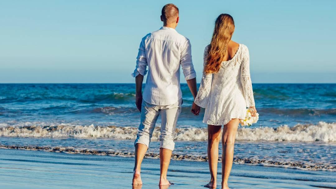 honeymoon at Crete, Greece