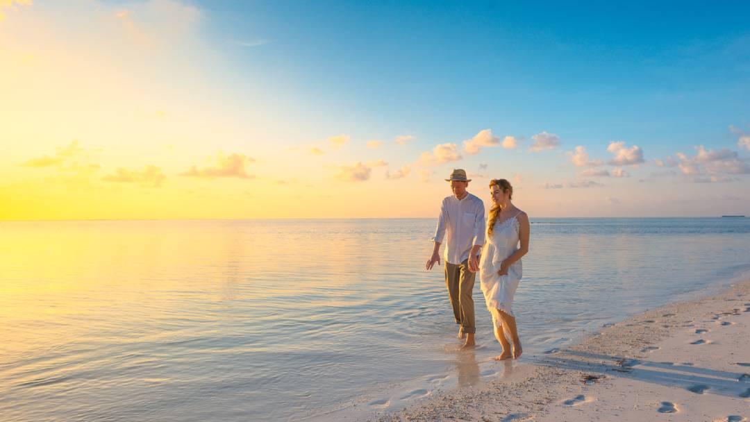 honeymoon on Maldives