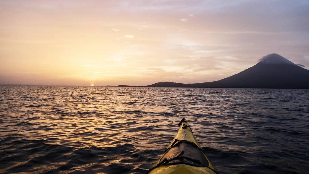 kayaking Nicaragua