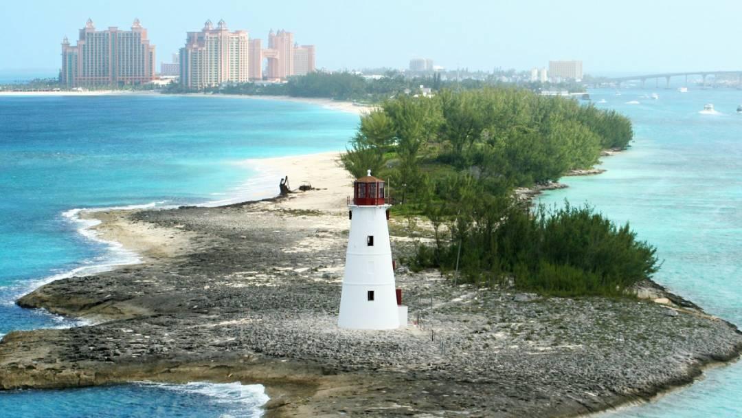 lighthouse on Bahamas