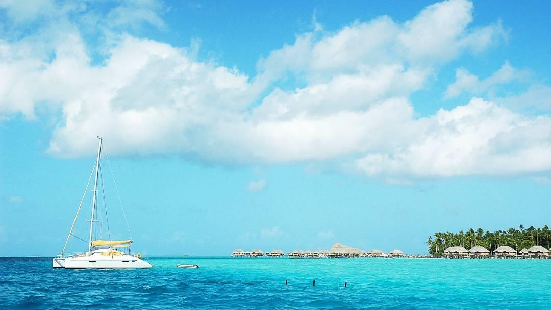 ocean view Tahiti