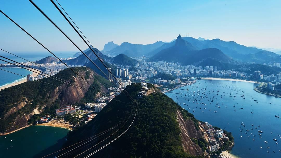 Rio de Janeiro areal view