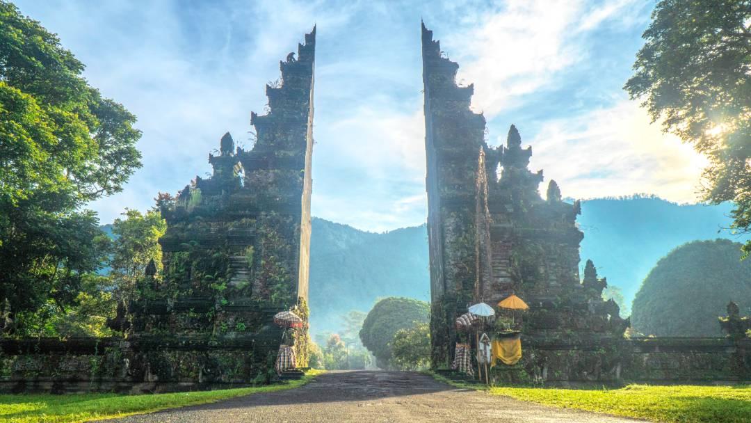 rock formation Bali