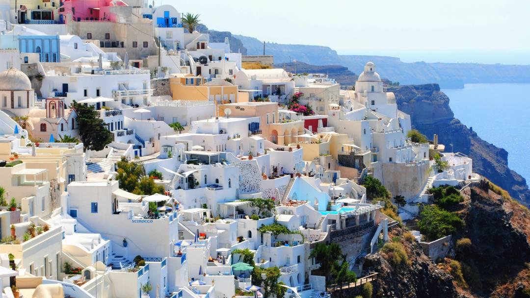 Santorini Greece during daytime