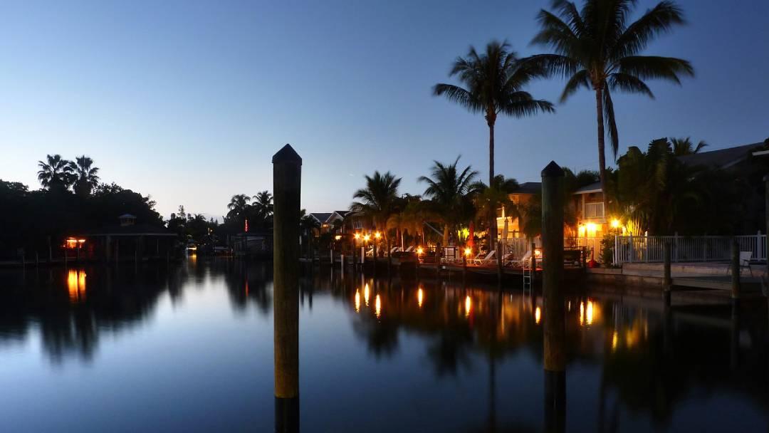 twilight Hawaiian islands