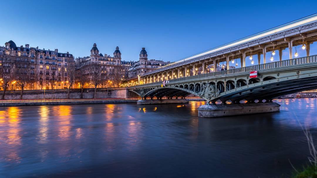 view on Sena, Paris