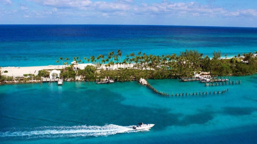 view on Treasure Cay Bahamas