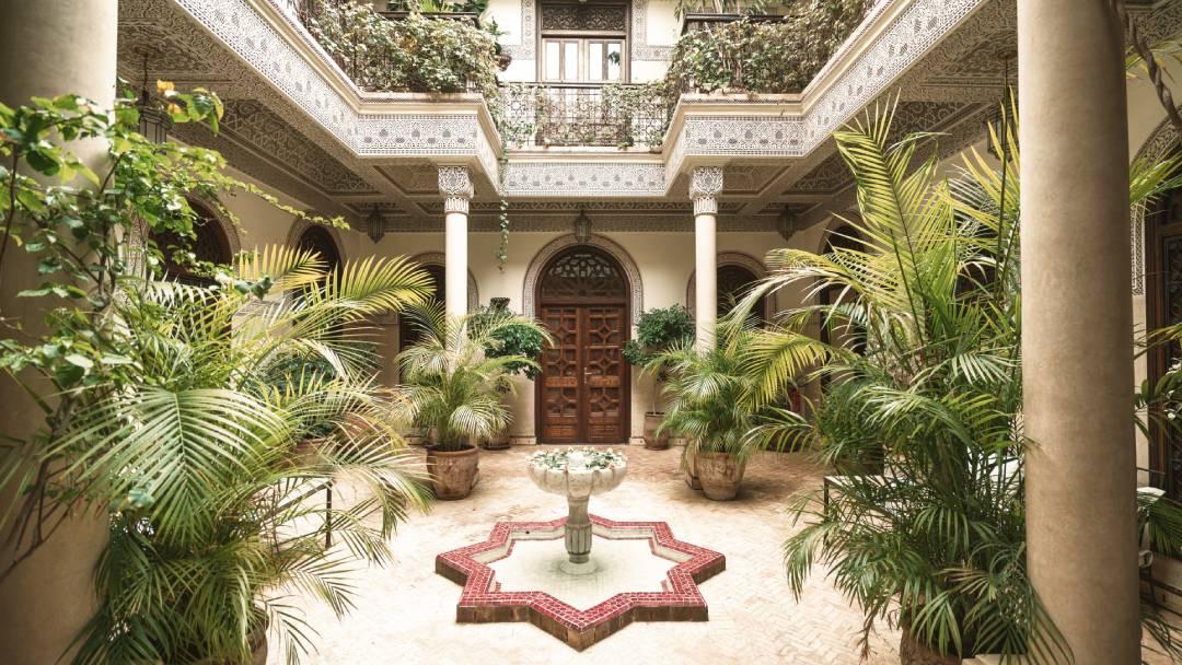 villa in Marocco