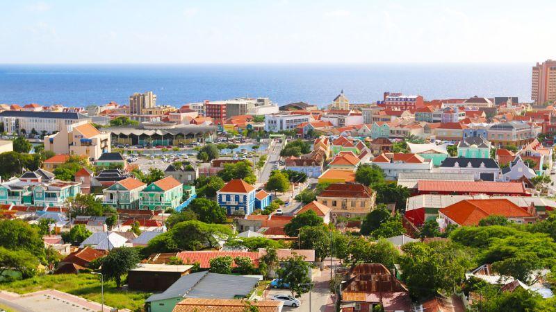 Aruba aerial view