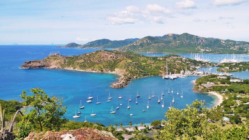 Caribbean Antigua port