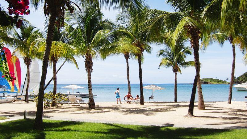 honeymoon at Antigua