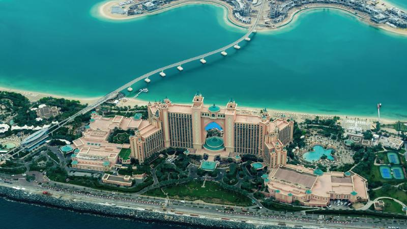 honeymoon in Britannica Dubai