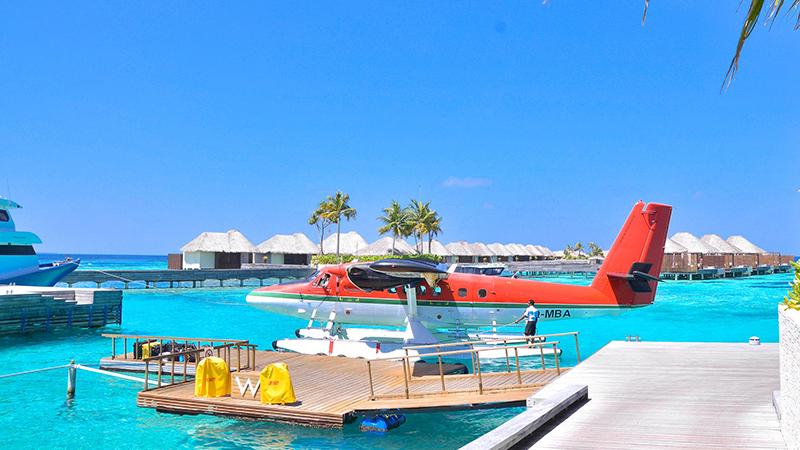 honeymoon at the Maldives