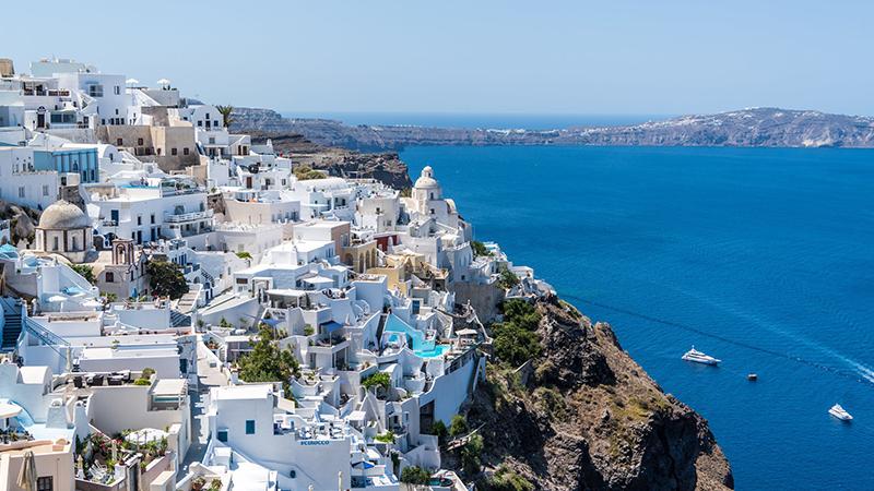 vacation ideas Santorini
