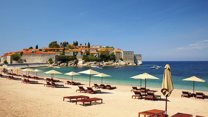 Budva Montenegro Beach