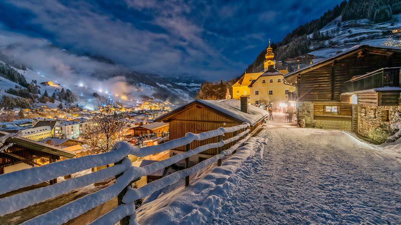 honeymoon at Salzburg, Austria