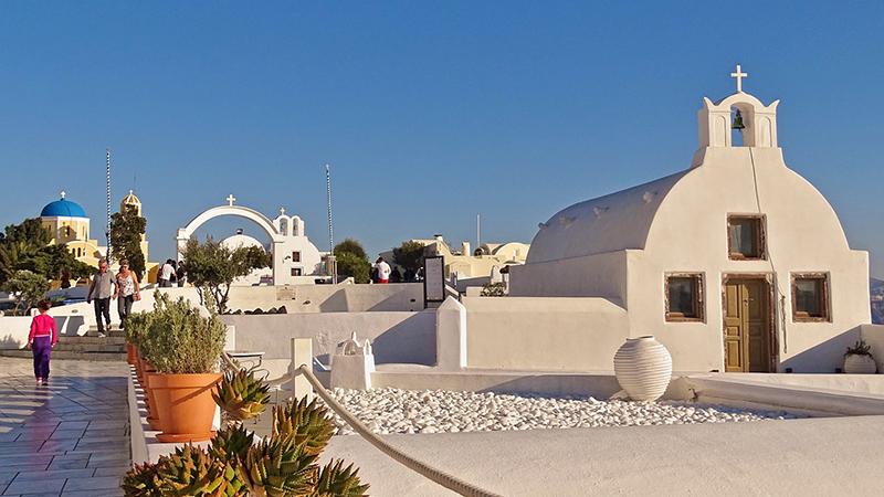 honeymoon trip to Santorini