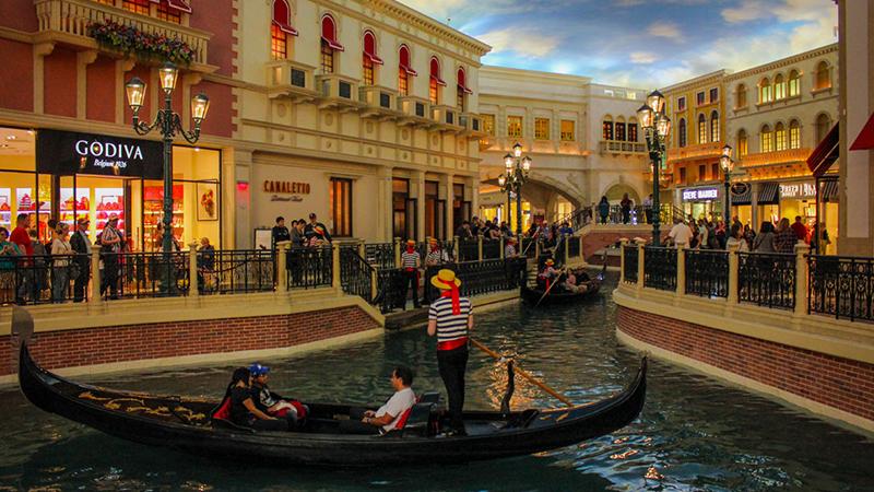 Venice canales in Las Vegas