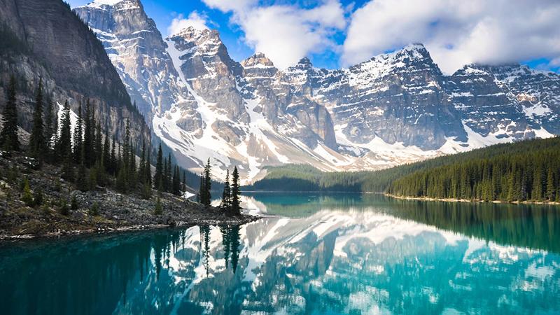 canadian rockies honeymoon escape