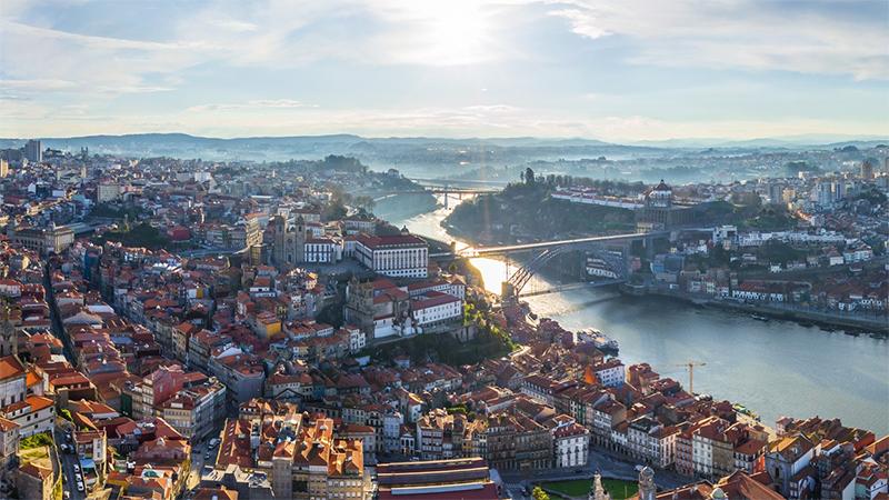 honeymoon in Porto