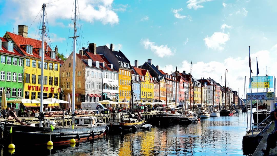 honeymoon in Copenhagen, Denmark