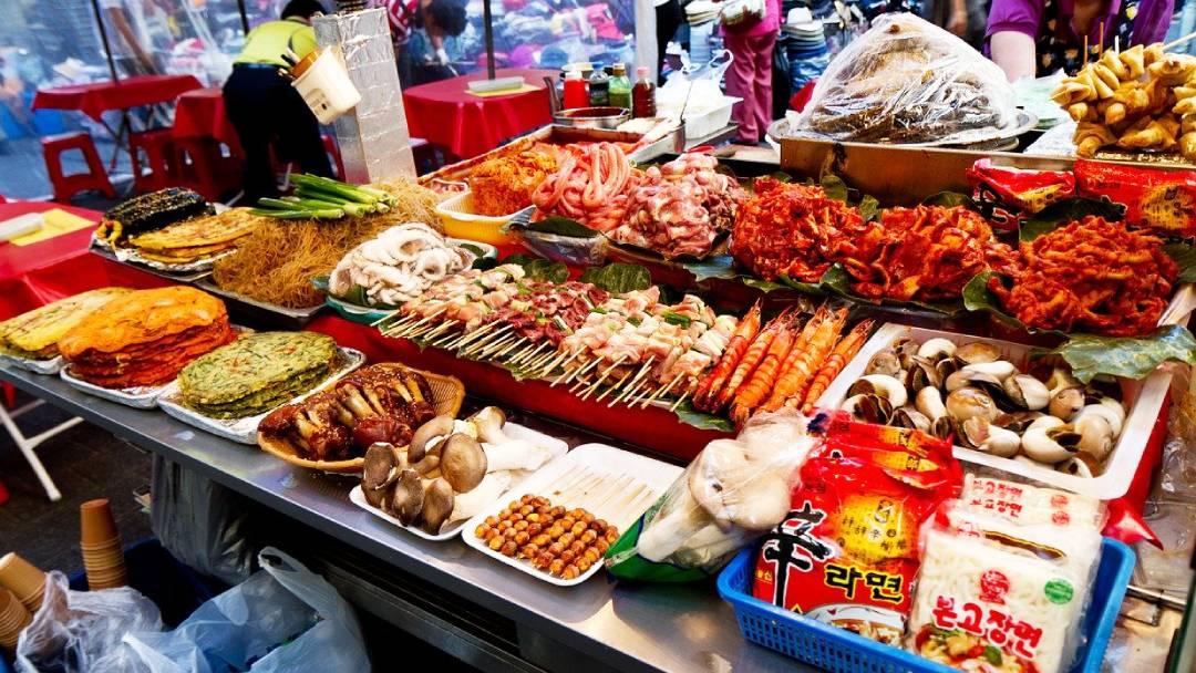 namdaemun market in South Korea