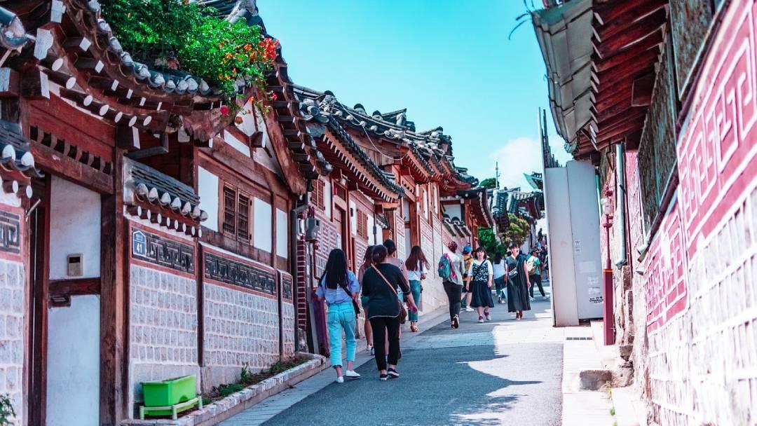 summer honeymoon in South Korea